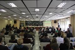 Servidores  lotaram o auditório do Centro Administrativo na tarde de hoje