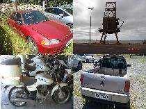 Na oportunidade serão leiloados veículos, equipamentos e materiais em condições de uso