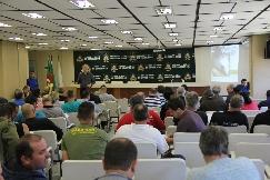 Público lotou o auditório do Centro Administrativo Fernando Ferrari